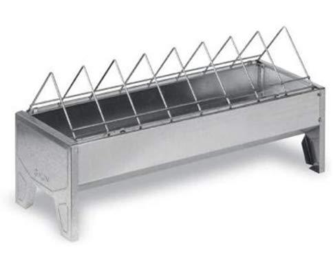 FINCA CASAREJO Comedero para gallinas metálico de 50 cm. Comedero para faisanes, Pavos, gallinas y Aves de Corral. (2)
