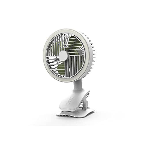fan portable Ventilatore a motore a basso rumore non spazzola per spazzola portatile Desktop 120 ° Ventola rotante USB Strumenti portatili del dispositivo di raffreddamento dell'aria del condizionator