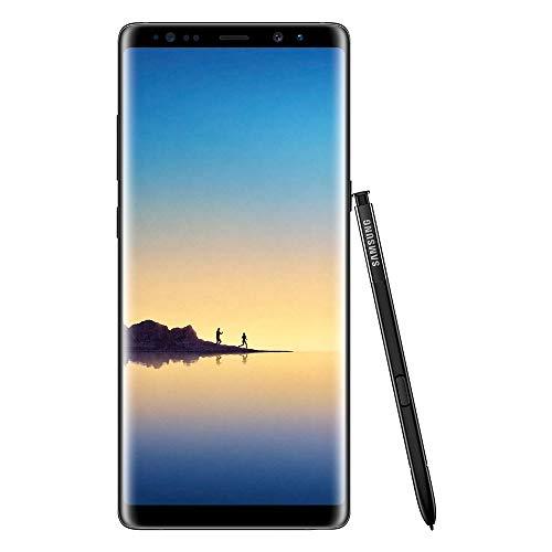 Samsung Galaxy Note8 Smartphone débloqué 4G (Ecran : 6,3 Pouces - 64 Go - 6 Go RAM - Simple Nano-SIM - Android Nougat 7.11) Noir Carbone (Reconditionné)