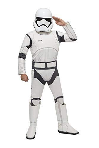Boy's Star Wars Stormtrooper Costume White