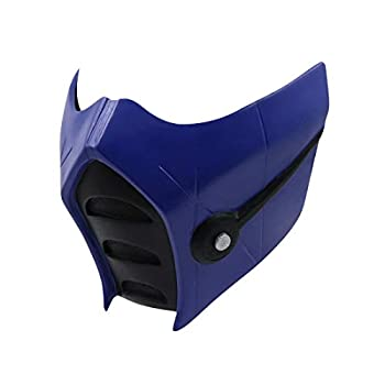 Mortal Kombat Subzero Game Mask Resin MK 11 Mask Cosplay Props Accessories for Adult