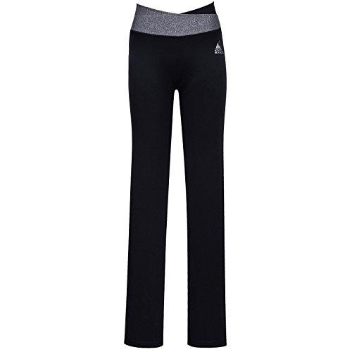 Cox Swain Damen Fitness Hose Bali - hoher, Colour: Black, Size: M