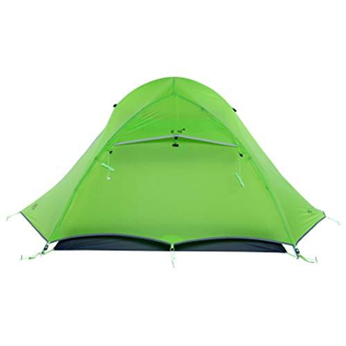 FTW Carpas Turísticas para 2 Personas Camping Ultraligero Al Aire Libre Carpas Profesionales De 4 Estaciones (Color : Green)