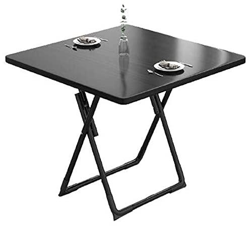 Mesa plegable plegable Mesa de comedor moderna minimalista casual mesa redonda casa pequeño apartamento comedor mesa cuadrada