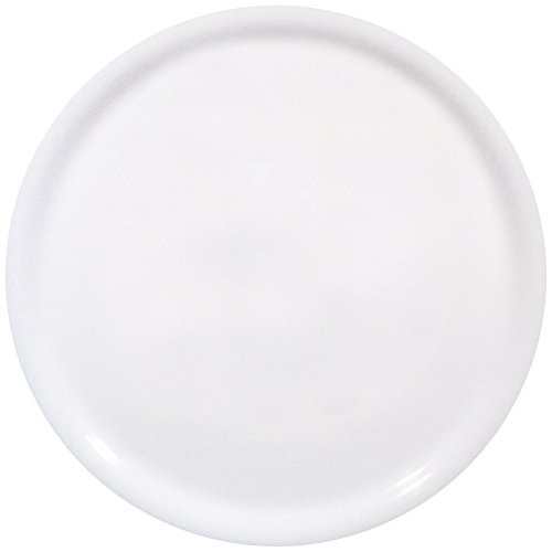 SATURNIA - Plato de 33 cm de diámetro ''Napoli'' para Pizzas. Color: Blanco