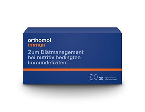 Orthomol immun 30er Tabletten & Kapseln - Vitamine & Spurenelemente - Komplex zur Unterstützung für das Immunsystem