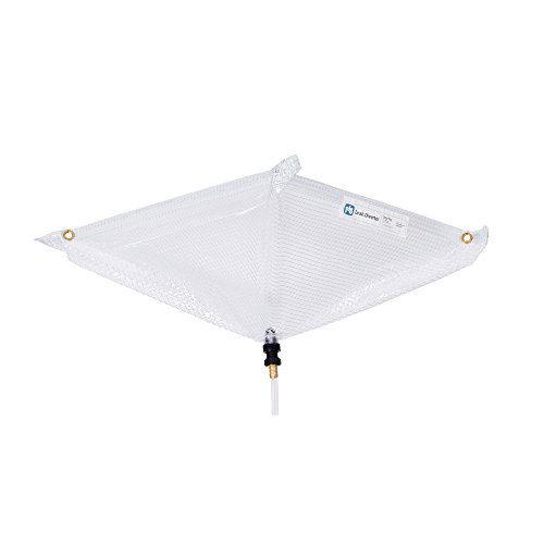 Roof Leak Diverter by New Pig   Catch and Divert Roof Leaks   Mildew-Resistant and Reusable   Easily Stores Away for Later Use   2.5' x 2.5'   TLS552-CL