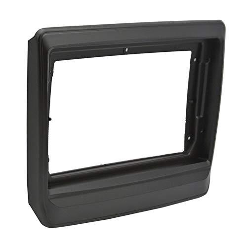 Rumors 2-1DIN Coche Marco De DVD Audio Adaptador De Ajuste Dash Kits Facia Panel Facia Fit para Isuzu D-MAX MU-X 2020