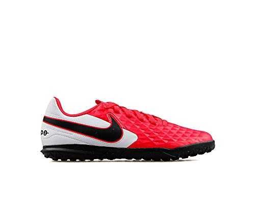 Nike Jr Legend 8 Club Tf voetbalschoenen voor kinderen, leer, rood/zwart, maat 35