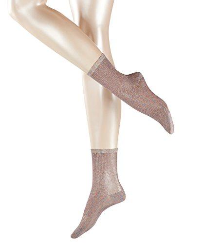 ESPRIT Damen Socken Glitter - Glänzend, 1 Paar, Grau (Light Grey 3770), Größe: 39-40