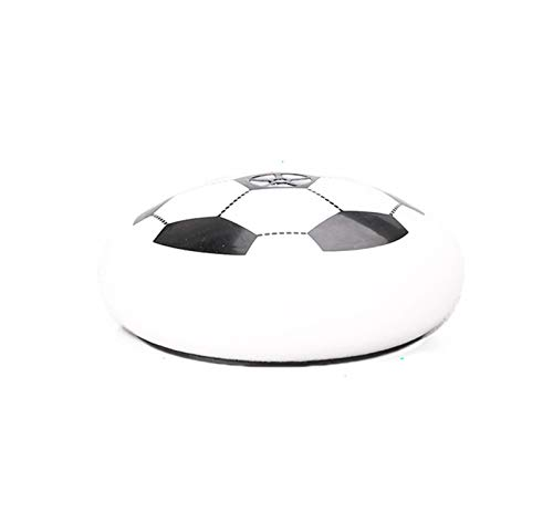 REWD Kids Hover Soccer Ball Toys Set Hover Soccer Ball with Colorful LED Lights with Soft & Safe Foam Bumper Disk Football Kids Toy Best Gift for Boys and Girls