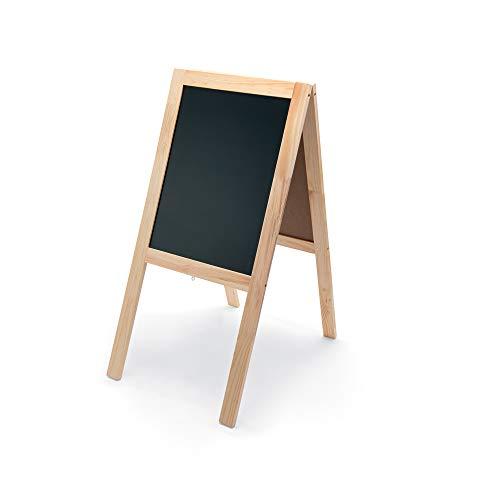 WAS 4311104 Angebotstafel, doppelseitiger Aufsteller, 104x50 cm