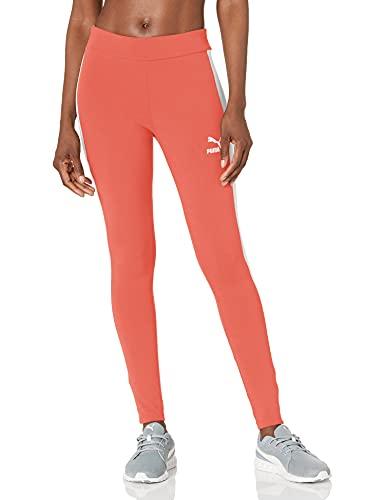 PUMA Iconic T7 Leggings, Rosa salmón (Georgia Peach), XL para Mujer