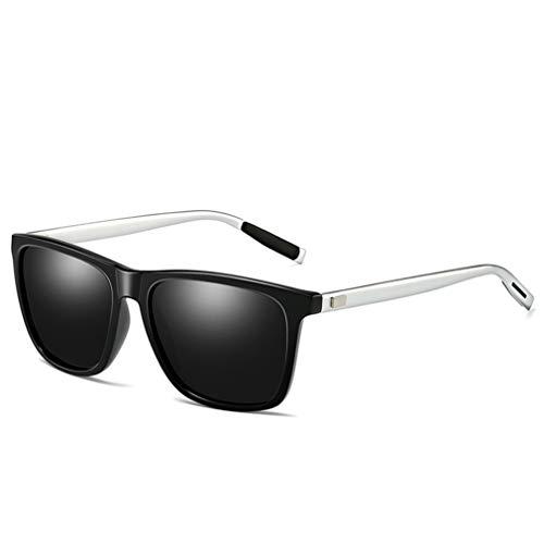 VBNM Sportzonnebril voor heren, gepolariseerd, UV400, uv-bestendig aluminium, magnesium frame, vissen, tour, mountainbike, fietsen, verkleuring