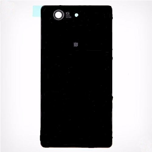 Sony Xperia Z3Compact Ersatz Glas Gehäuse Akkudeckel Backcover Schwarz D5803/D5833