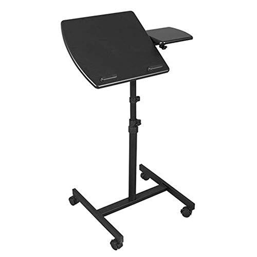 FTFTO Akcesoria domowe biurko na laptopa wielofunkcyjne płaskie powierzchnie podnoszenie komputer biurko stół rolowany laptop stół na laptopa stojak na laptopa nadstawka biurko na kółkach laptop biurko z kółkami