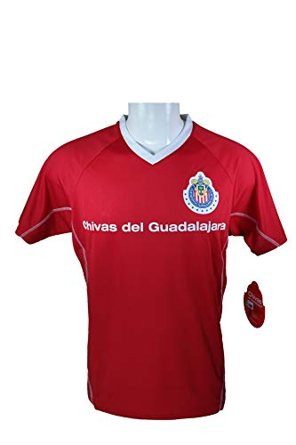 Chivas De Guadalajara Official Adult Soccer Training Poly Jersey -007 Large