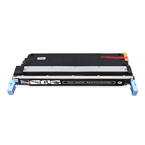 Cartucho de tóner compatible con HP C9730a para HP Color Laserjet 5500 / 5500n / 5500dn / 5500dtn / 5500hdn, negro y tricolor
