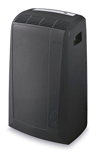 DeLonghi Pinguino Portable Air Conditioner with Heat Mode, 500 sq. ft, Dark Grey