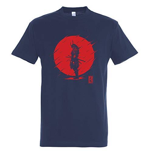 Pampling T-Shirt Samurai Spirit - Science - Japon - 100% Coton - Sérigraphie de Haute qualité.