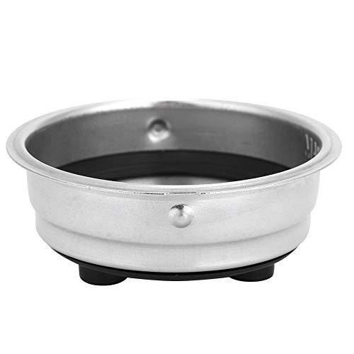 Tazón de filtro de café, canasta de filtro de café de acero inoxidable, taza de filtro de café desmontable reutilizable para máquina de café(1)