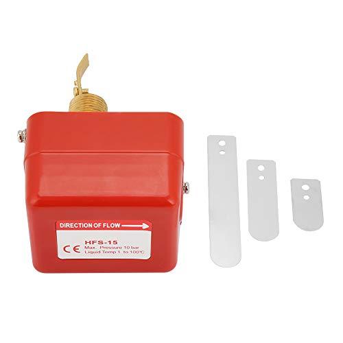 SANON Interruptor de Control de Flujo de Agua Hfs- 15 1/ 2 6- 380V Sistema de Enfriamiento de Agua Tipo Paleta de Rosca Interruptor de Flujo Interruptor de Control Automático