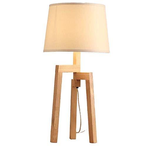 tafellamp eenvoudige studioverlichting van hout slaapkamer met drie poten tafellamp bar lounge verlichting tafellamp