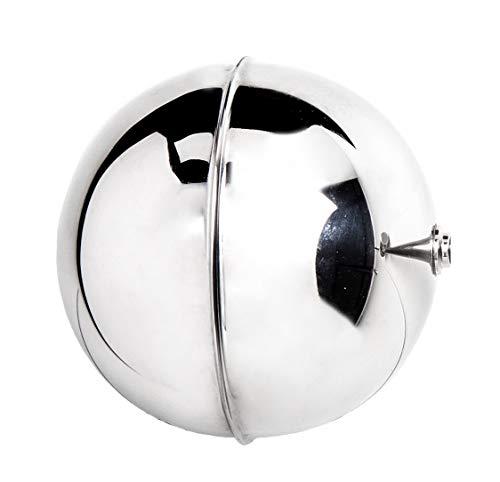 ZAES -Boya roscada acero inoxidable diámetro 125 mm AISI 316 para válvula de flotador industrial 1/2