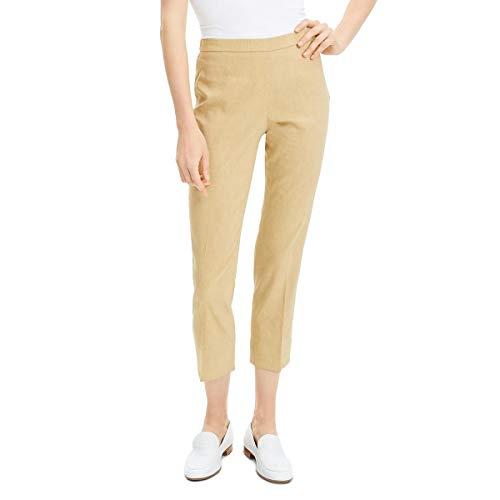 Theory Damen Basic Pull ON Pant Anzughose, Beige Clay, 32
