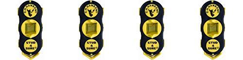 CH Hanson 03040 Magnetic Stud Finder, 4 Pack