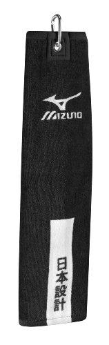 Mizuno Tri Fold Clip Towel Farbe: Black 41 cm x 54 cm