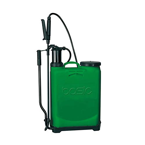 Basic 85947 - Pulverizador presión retenida, talla 16, color verde