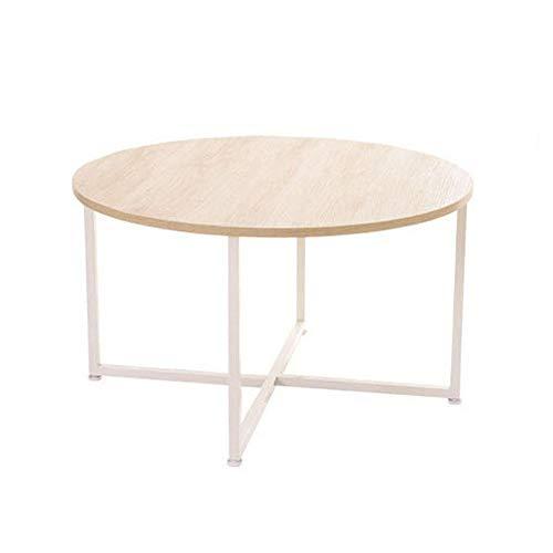 Tables FEI - Bureau d'ordinateur Basse de d'extrémité de Combinaison de d'appoint de canapé en métal Rond pour Le Salon, Chambre à Coucher, Cuisine pour Tous Les postes de Travail