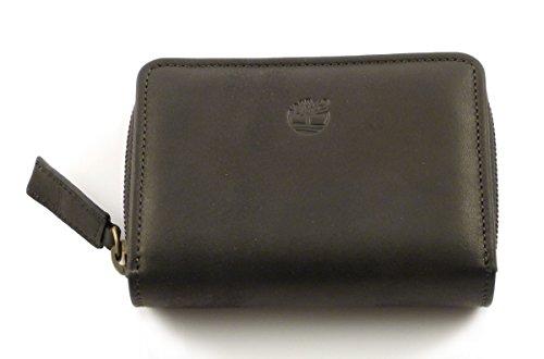 Portafoglio donna in pelle Timberland M2992 (Nero)