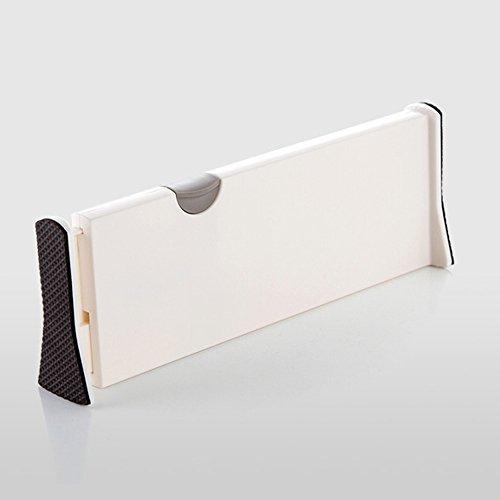 TAMUME Große Erweiterbar Schublade Veranstalter und Schubladenteiler Für Objektklassifizierung In Dresser Schublade, Küche Besteckhalter oder Büroschublade (37.5~53.5)