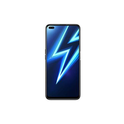 Realme 6 Pro (128GB, 6GB) 6.6' 90Hz Display, 30W Fast Charge, Snapdragon 720G, GSM Unlocked Global 4G LTE (T-Mobile, AT&T, Metro) International Model RMX2063 (128GB SD Bundle, Lightning Blue)