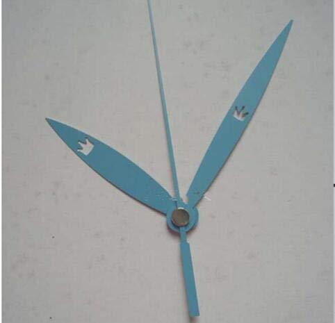 Clock Movement Mechanism Blue Hands DIY Repair Parts Kit