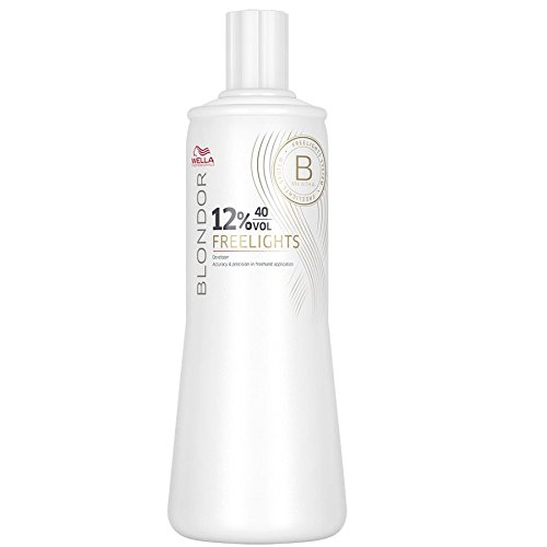 Wella Blondor Freelights 12% 1 x 1000 ml H2O2 Peroxid 20 Vol. für maximale Aufhellung