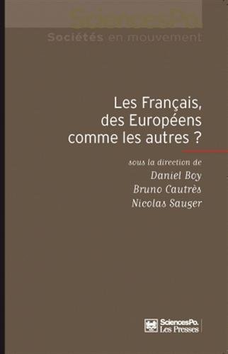 Les français, des européens comme les autres ? (ACADEMIQUE)