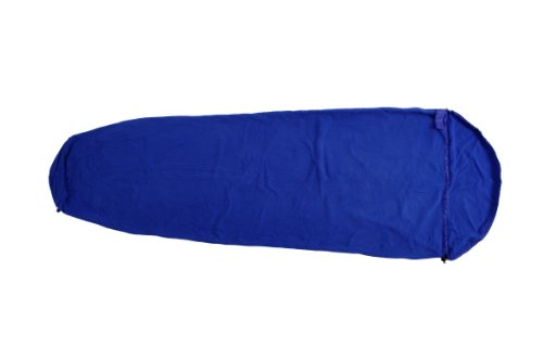 Basic Nature Fleece Schlafsack royalblau, 310880