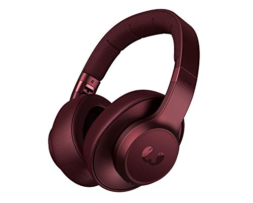 Fresh 'n Rebel Clam ANC – Over-ear Bluetooth Koptelefoon met Active Noise Cancelling – Ruby Red