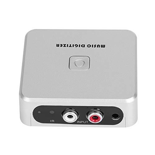 MP3 Digitizer 128Kbps Music Digitizer Tragbare Audio-Aufnahmebox-Unterstützung U Disk SD-Karte