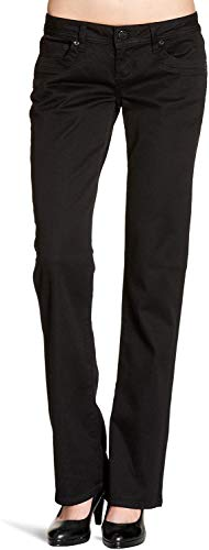 LTB Jeans Damen Boot-Cut Jeans Valerie, Schwarz (BLACK 200), W25/L30 (Herstellergröße: 25)