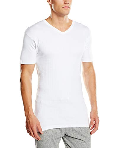Abanderado TERMAL Camiseta térmica, Blanco, 60/XXL para