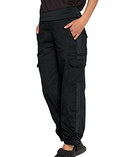 SCOTTeVEST Margaux Cargaux Travel Pants -11 Pockets- Travel Cargo Pants BLK M