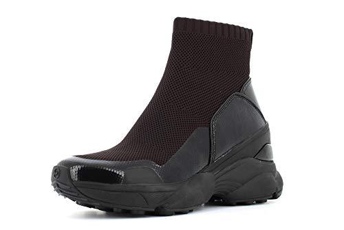 Michael Kors Sneakers Donna 43R0MKFE6D Mickey Pelle Tessuto Nero