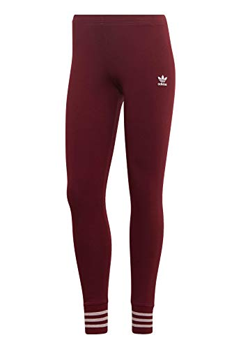 adidas Originals Leggings Damen Tights ED4788 Dunkelrot, Size:36