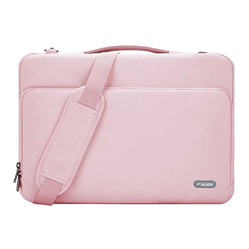 KALIDI Shoulder Bag, 15.4 15.6 Inch Laptop Bag for MacBook Thinkpad Notebook Shockproof
