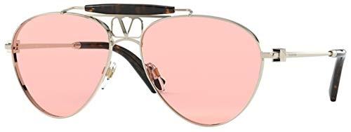 Valentino Gafas de sol VA2039 3003/5 Gafas de sol LIGHT GOLD Color Hombre Oro rosa tamaño de lente 59 mm