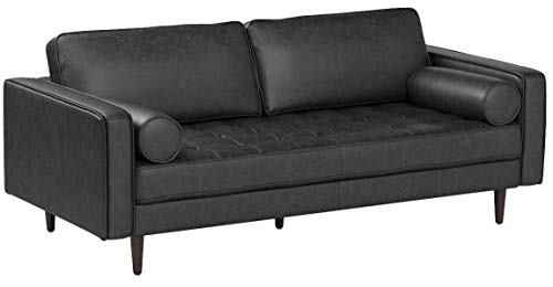 Rivet-Aiden-Mid-Century-Leather-Sectional-with-Tapered-Wood-Legs